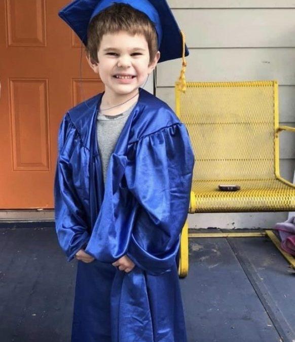 Congratulations to our graduating preschoolers!
