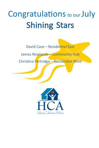 Employee Shining Stars