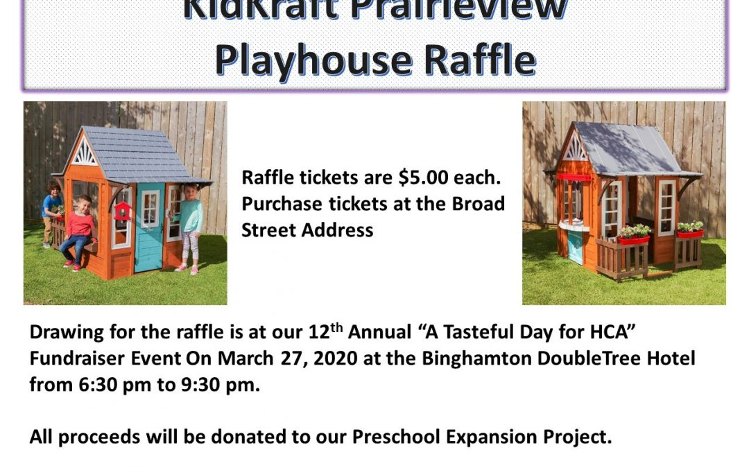 Enter to win a playhouse!