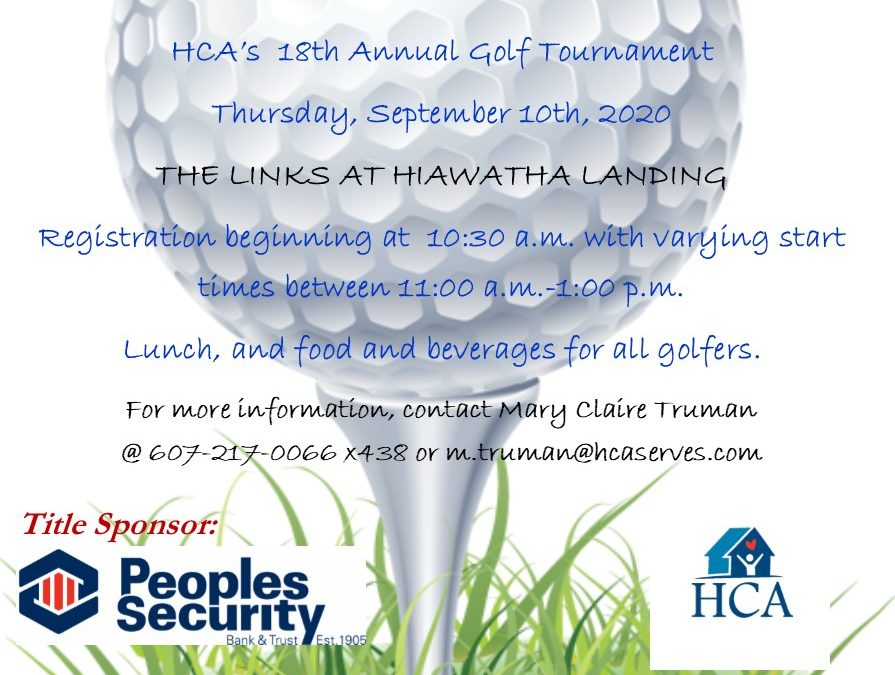 18th Annual Golf Tournament – Sponsored by Peoples Security Bank and Trust